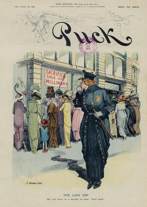 1913 puck magazine