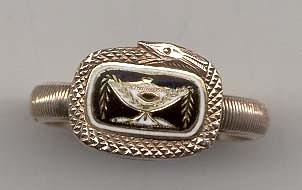 1813 serpent ring