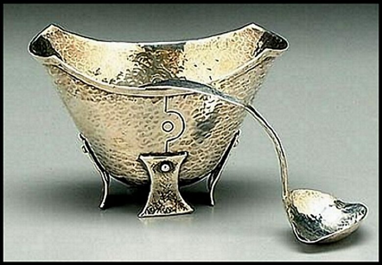 American, arts and crafts sauce boat