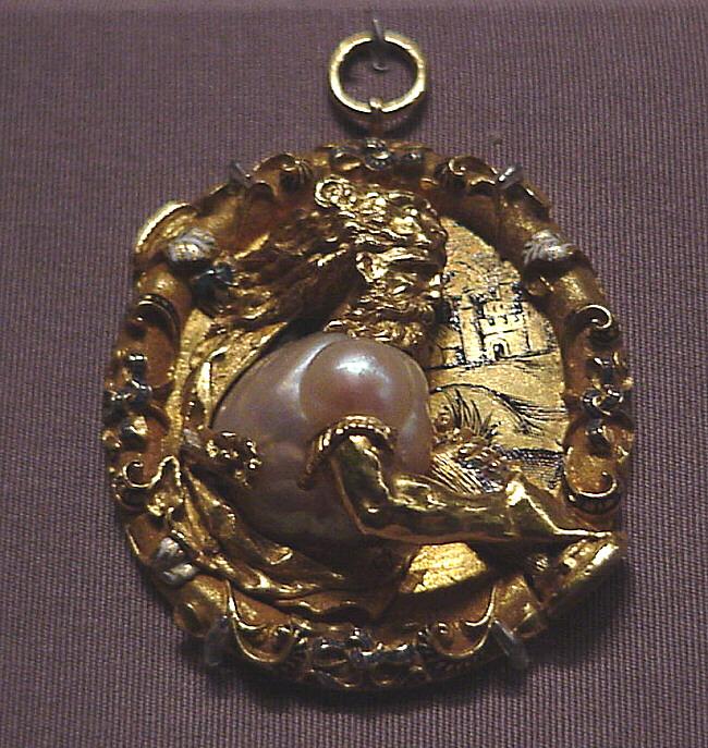 Getty Hercules Pendant