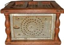 antique footwarmer