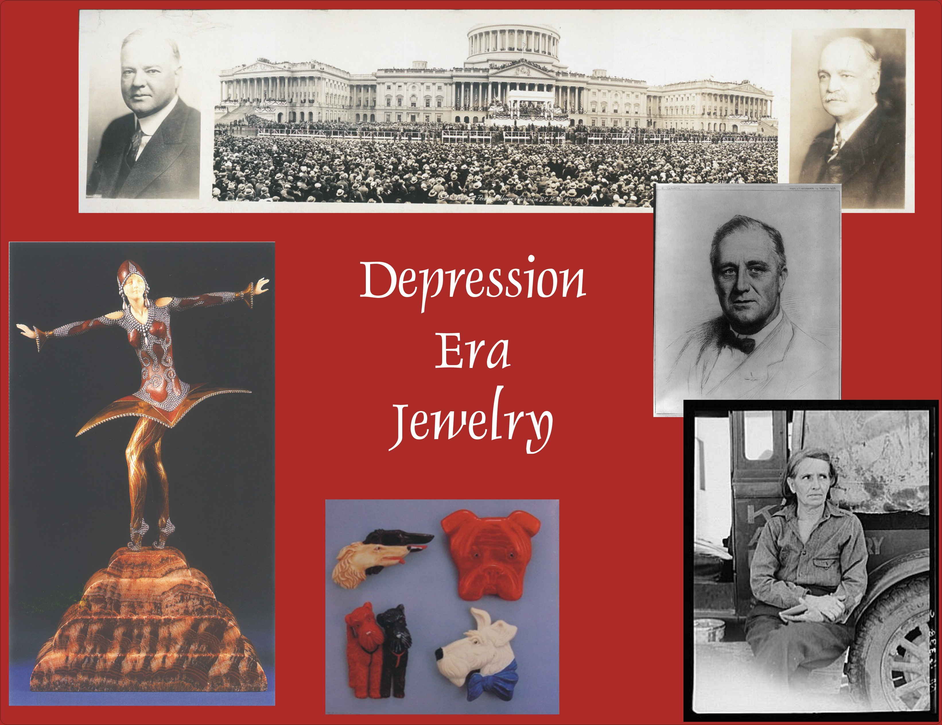 Depression era jewelry